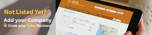 Add Solar Company Listing | Solar Business Directory | Australia